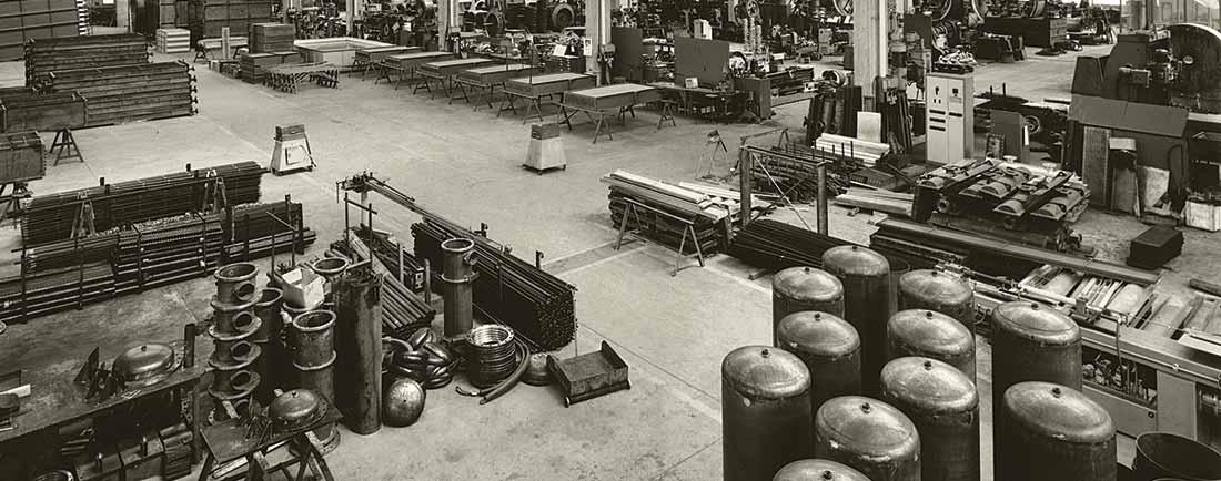 Boldrocchi's factory in the 1900's