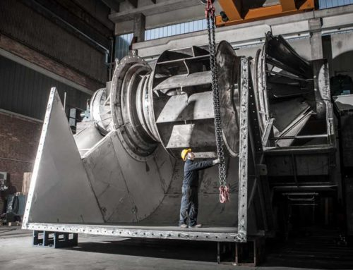 A Series of Complex Fan Packages for a New Urea Granulation Unit
